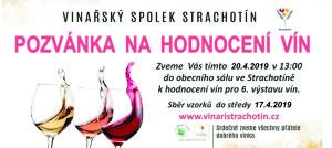 Hodnocení vín VV2019