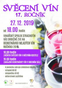 Svěcení vín 2019