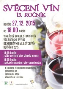 svěcení vín